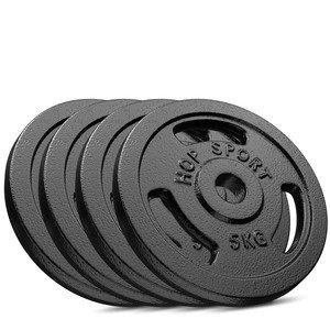 Litinový kotouč na činky Hop-Sport - 5 kg