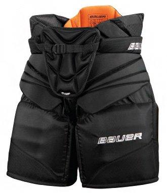 Modré brankářské hokejové kalhoty - senior Bauer - velikost M
