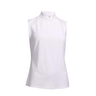 Bílé dámské jezdecké tričko Fouganza