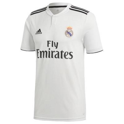 """Bílý dětský fotbalový dres """"Real Madrid CF"""", Adidas - velikost 133"""