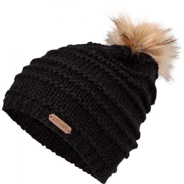 Černá dámská zimní čepice Willard - univerzální velikost