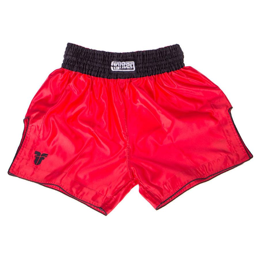 Červené thaiboxerské trenky Fighter
