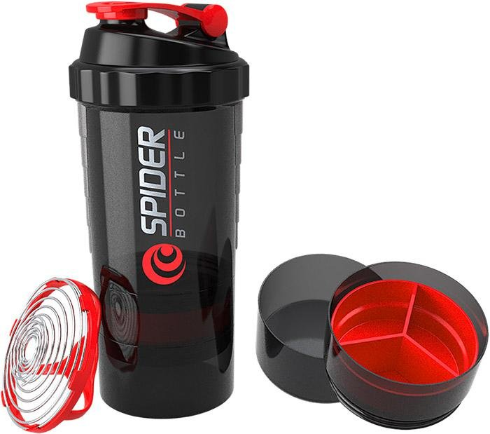 Shaker - Vícedílný shaker/šejkr Spider Bottle 700ml