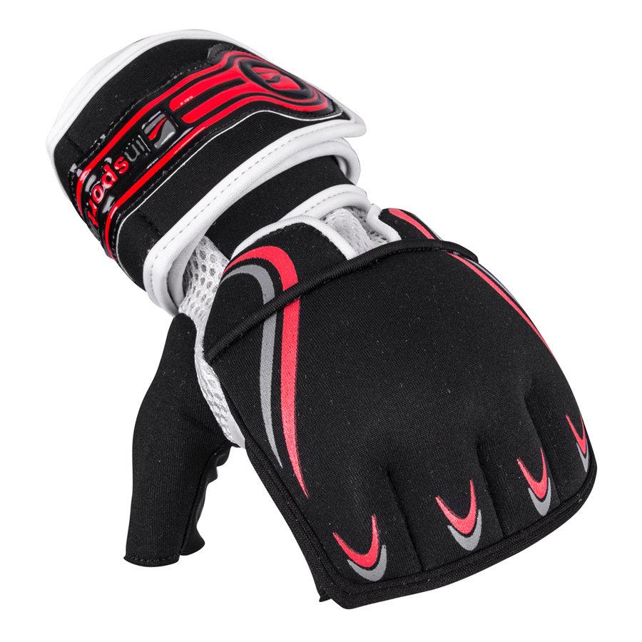 Černé MMA rukavice inSPORTline