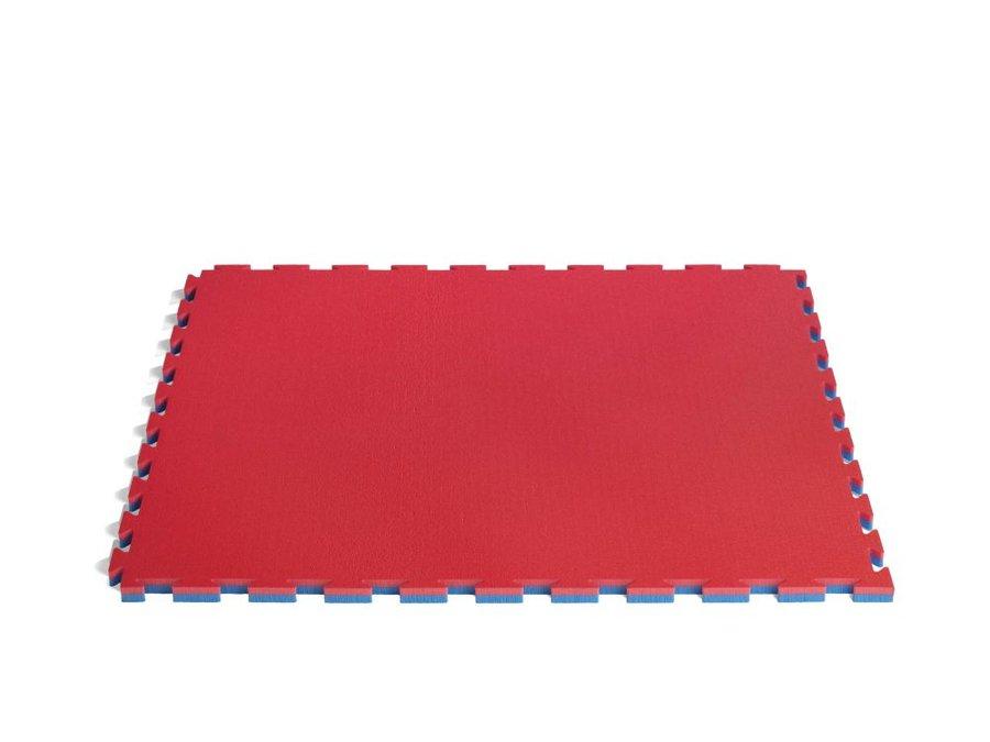 Tatami - ProGame tatami Multisport Basic - modrá/červená - modrá - velikost 1x1 m2 x 2,2 cm