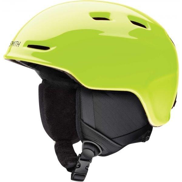 Žlutá dětská lyžařská helma Smith