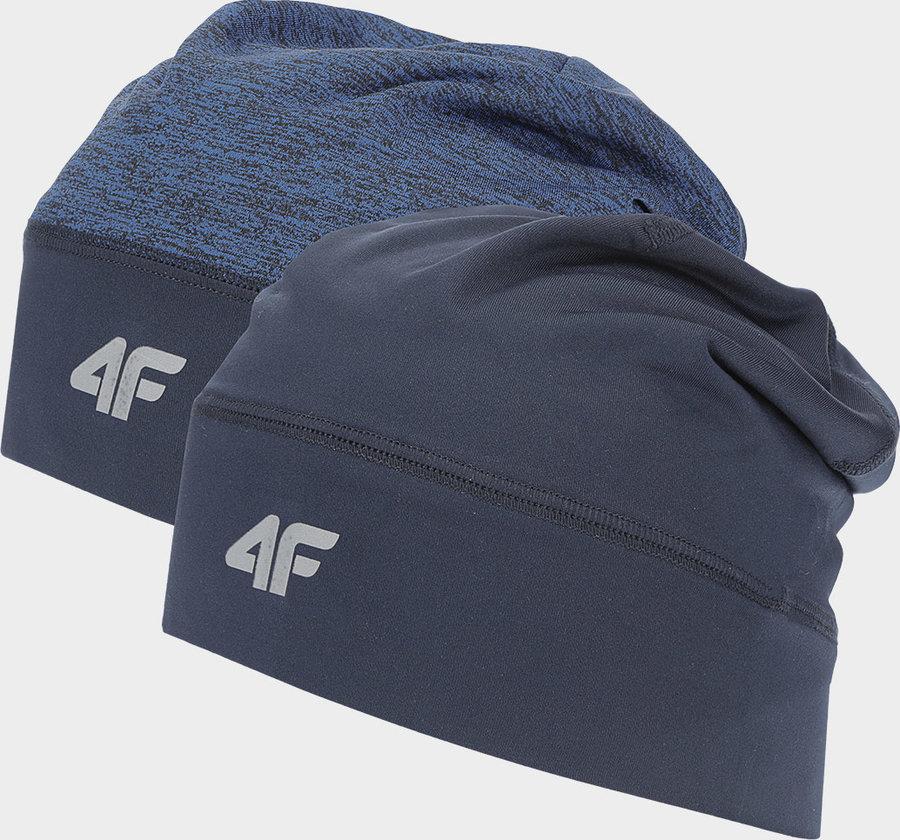 Modrá běžecká čepice 4F - velikost S