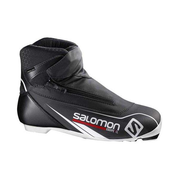 Černé pánské boty na běžky Salomon - velikost 45 1/3 EU