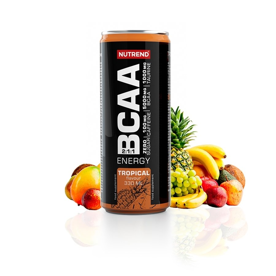 BCAA - NUTREND BCAA Energy 330 ml tropical
