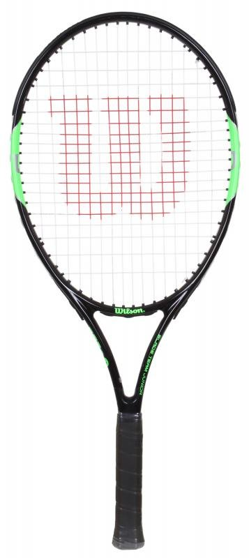 Dětská tenisová raketa Wilson - 258 g a délka 63,5 cm