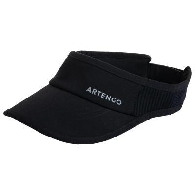 Černý tenisový kšilt Artengo