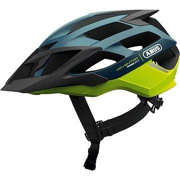 Oranžová cyklistická helma ABUS - velikost M