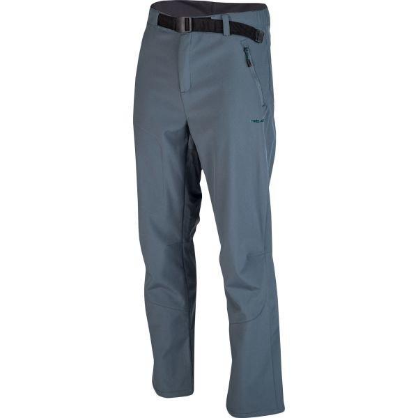 Modré softshellové pánské kalhoty Head