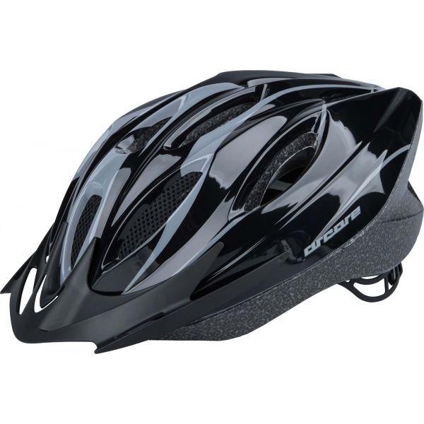 Černo-šedá cyklistická helma Arcore