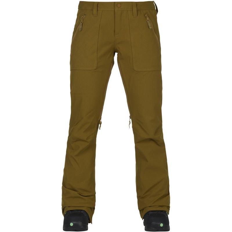 Béžové dámské snowboardové kalhoty Burton