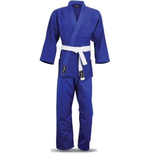 Modré kimono na judo Musashi