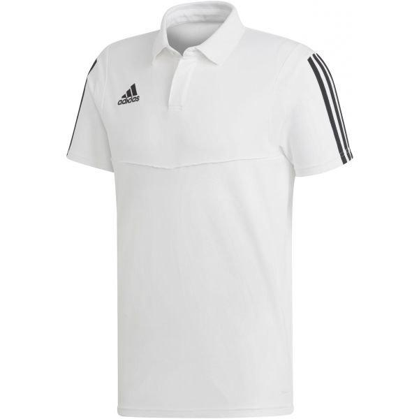 Bílá pánská polokošile Adidas - velikost XL