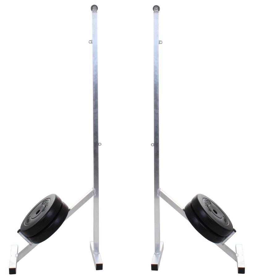 Sloupky na badminton - MERCO Badmintonové sloupky přenosné BS-1.7