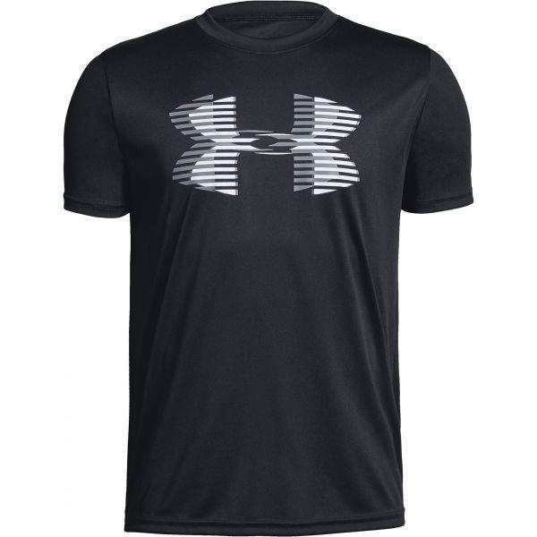 Černé chlapecké tričko s krátkým rukávem Under Armour - velikost S