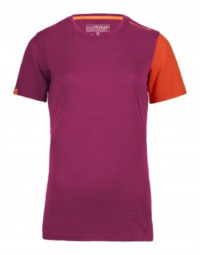 Fialové dámské termo tričko Ortovox