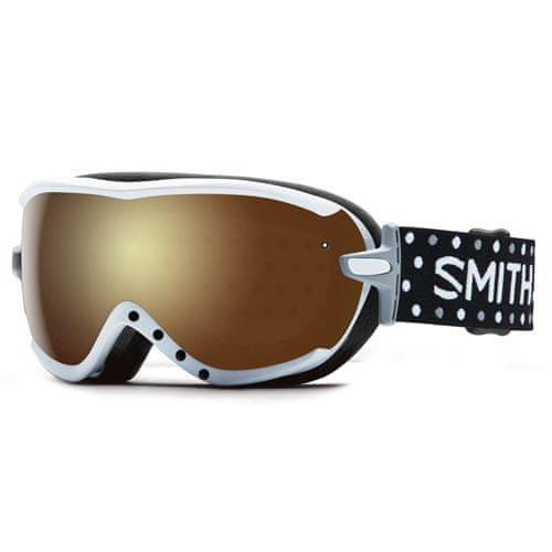 Lyžařské brýle - Smith VIRTUE SPH   White Dots   Gold Sol-X Mirror   O/S