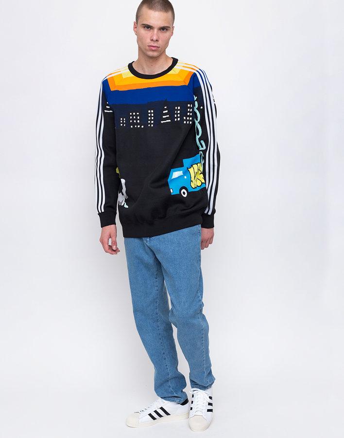 Černý pánský svetr Adidas