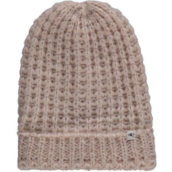 Béžová dámská zimní čepice O'Neill