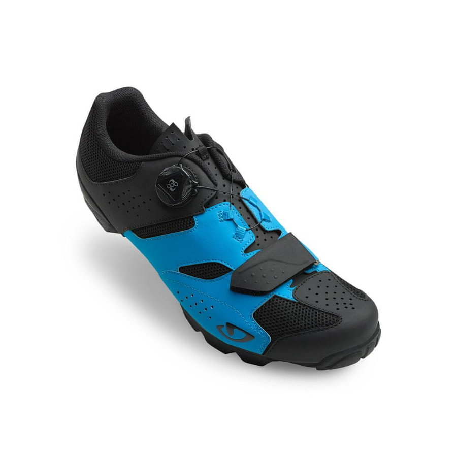 Černo-modré cyklistické tretry Giro - velikost 45 EU