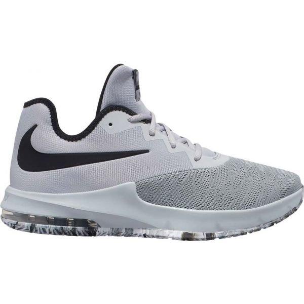 Šedé pánské basketbalové boty Nike