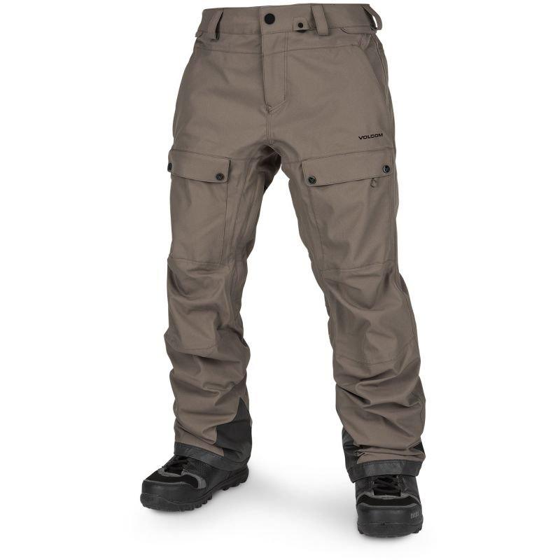 Hnědé pánské snowboardové kalhoty Volcom