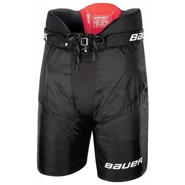 Černé hokejové kalhoty - junior Bauer