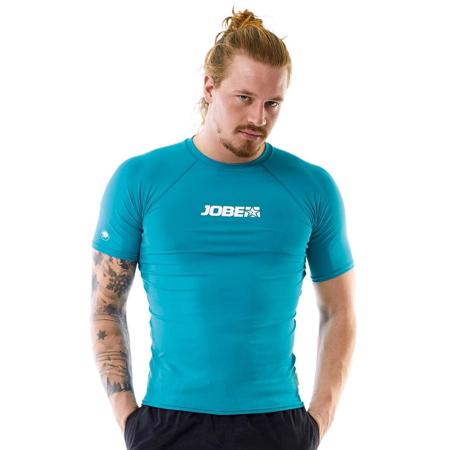 Modré pánské lycrové tričko Rashguard, Jobe - velikost S