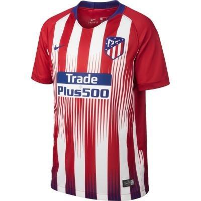"""Bílo-červený dětský fotbalový dres """"Atlético Madrid"""", Nike - velikost 133"""