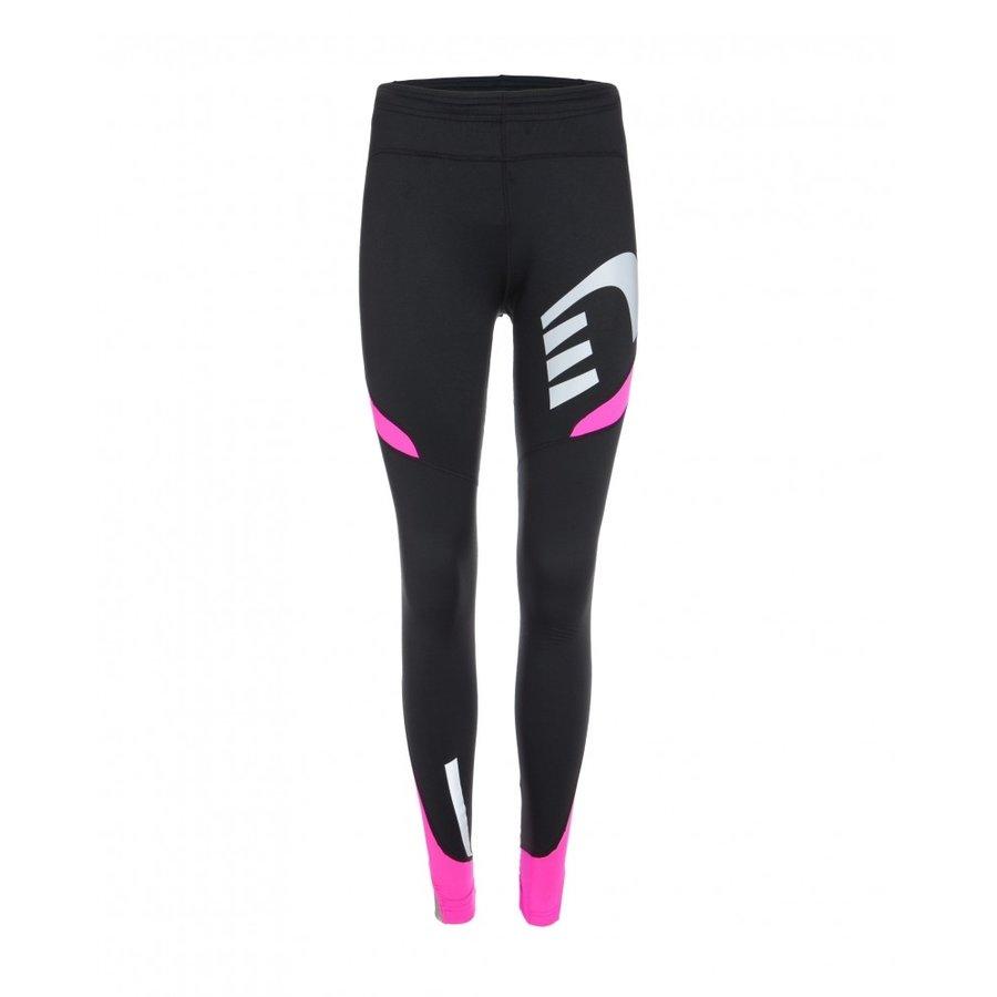Černo-růžové dámské běžecké kalhoty Visio, Newline - velikost XS