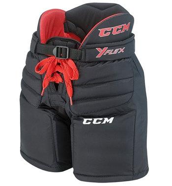 Černé dětské brankářské hokejové kalhoty CCM