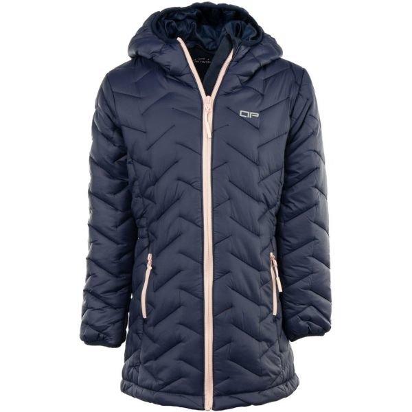 Modrý dívčí kabát Alpine Pro