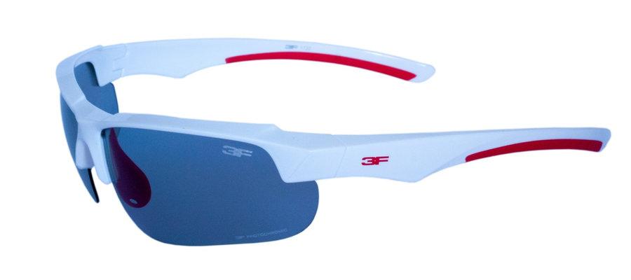 Polarizační brýle - Fotochromatické brýle 3F Version Barva obrouček: bílá/červená