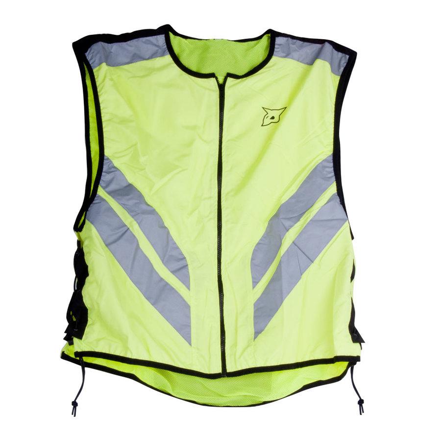 Zelená motorkářská vesta Rebelhorn