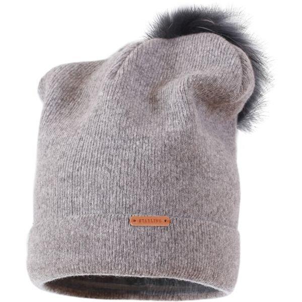Šedá dámská zimní čepice Starling - univerzální velikost