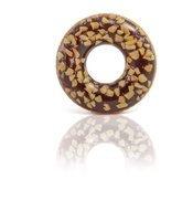 Hnědý nafukovací kruh Donut INTEX