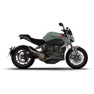 Modrá elektrická motorka Zero