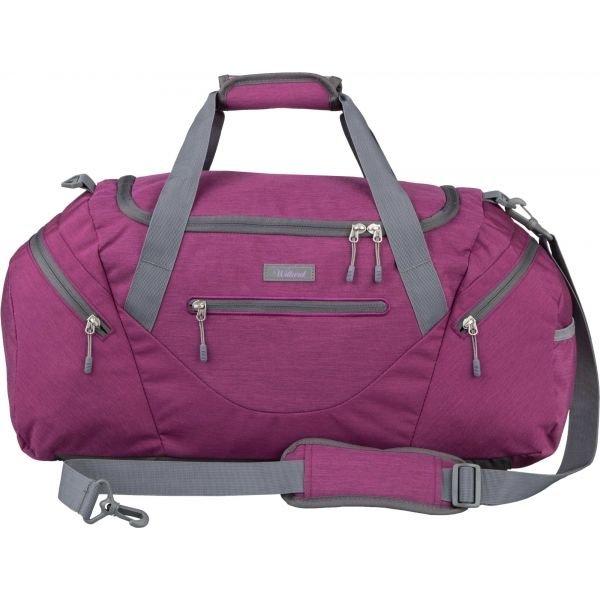 Růžová sportovní taška Willard - objem 45 l