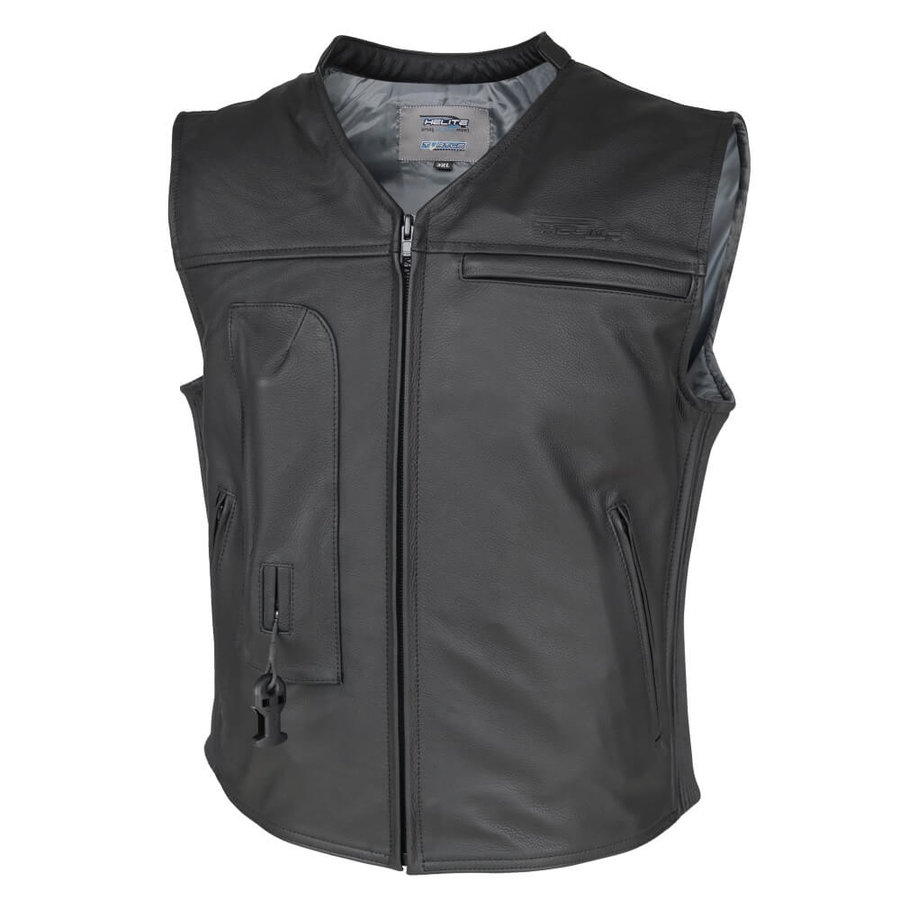 Černá motorkářská vesta Helite