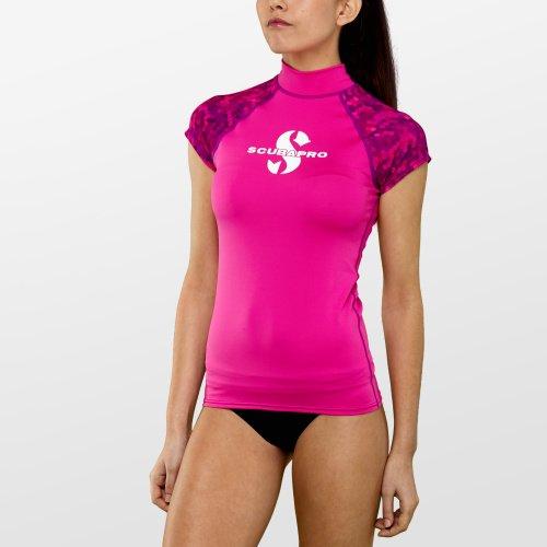 Růžové dámské lycrové tričko Flamingo RG UPF 50, Scubapro
