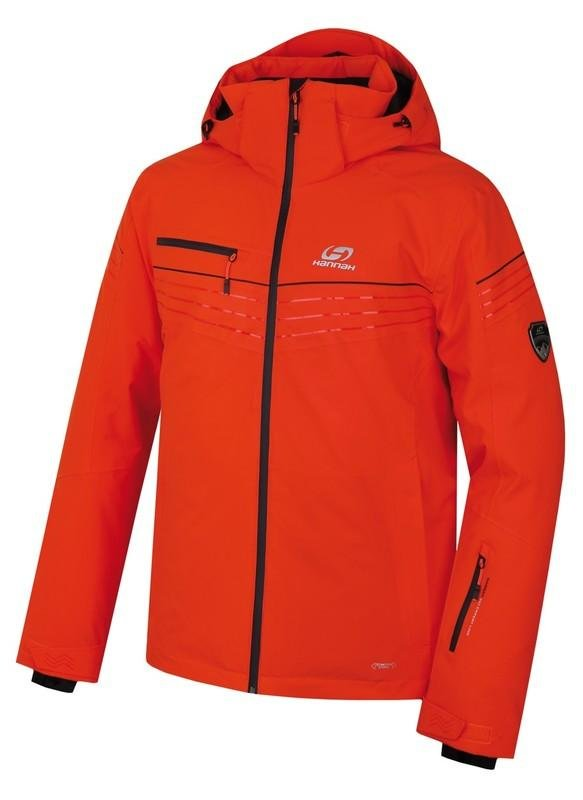 Červená pánská lyžařská bunda Hannah - velikost XXL