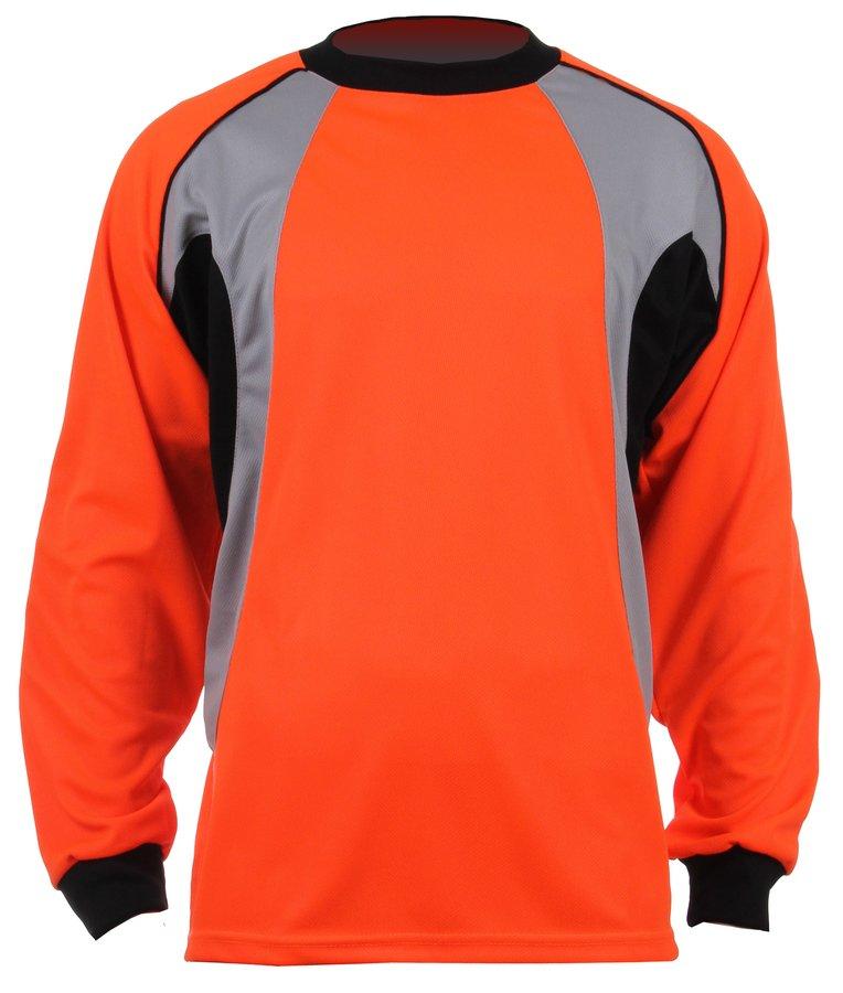 Oranžový brankářský fotbalový dres GO-3, Merco