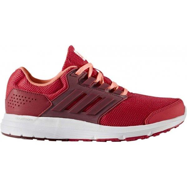 Červené dámské běžecké boty Adidas