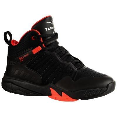 Černé dětské chlapecké nebo dívčí basketbalové boty SS500H, Tarmak