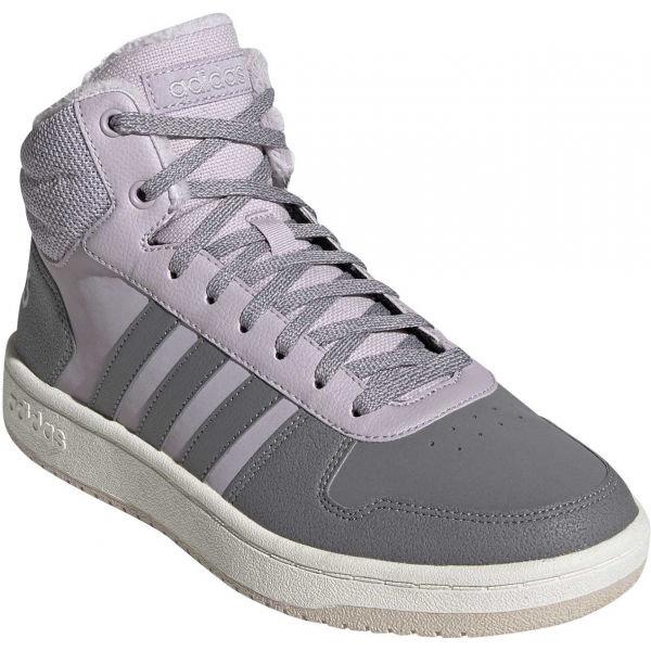 Růžovo-šedé dámské tenisky Adidas