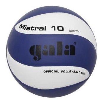 Bílo-modrý volejbalový míč BV5661S, Gala - velikost 5